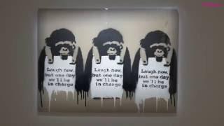 Tutto Banksy a Roma. Guerra, Capitalismo & Libertà