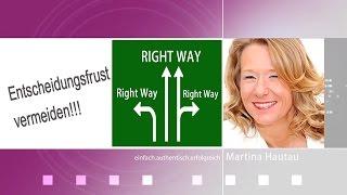 Umgang mit Konflikten - So bereuen Sie keine Entscheidung- Selbstmanagement Tipp 3