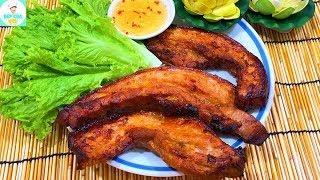 BA CHỈ NƯỚNG SA TẾ | Cách nướng thịt heo thơm ngon đậm vị | Bếp Của Vợ