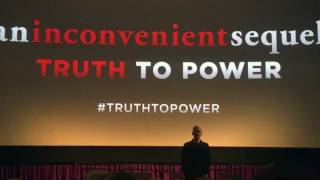 "The Silicon Valley debut of ""An Inconvenient Sequel, Truth to Power"""