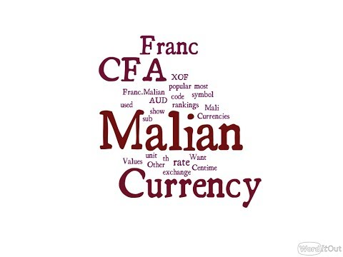 Malian Currency - CFA Franc