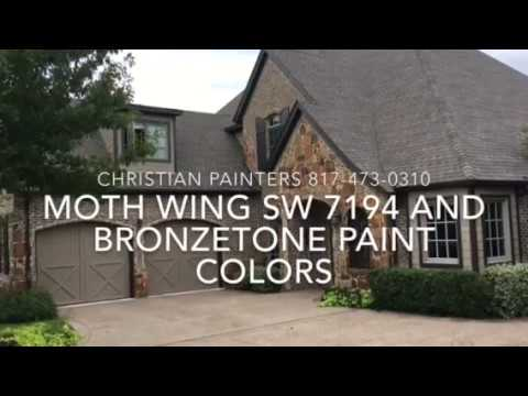 Moth Wing Sw 9174 And Bronzetone Exterior Paint Colors