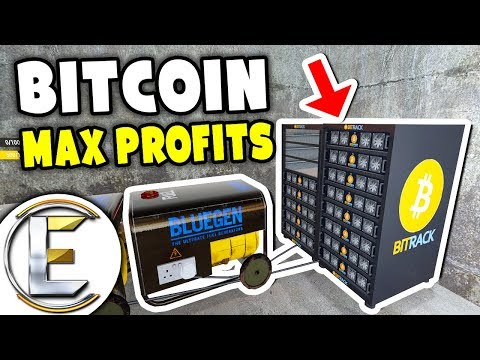 Bitcoin Mining Max Profits - Gmod DarkRP (Bitcoin Miner And Holding Players Hostage?)