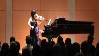 Sumine Hayashibara Violin Recital 1/8: Handel Violin Sonata No. 4