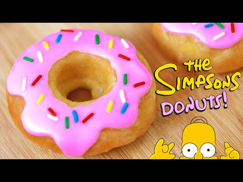 SIMPSONS GLAZED DONUTS - NERDY NUMMIES
