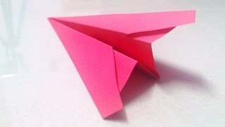 How To Make An Origami Plane That Flies - 1