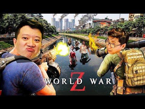 TRẬN CHIẾN TRÊN DÒNG SÔNG TÔ LỊCH =)))) Giải cứu Hà Nội cùng team Đụt - WORLD WAR Z !!!