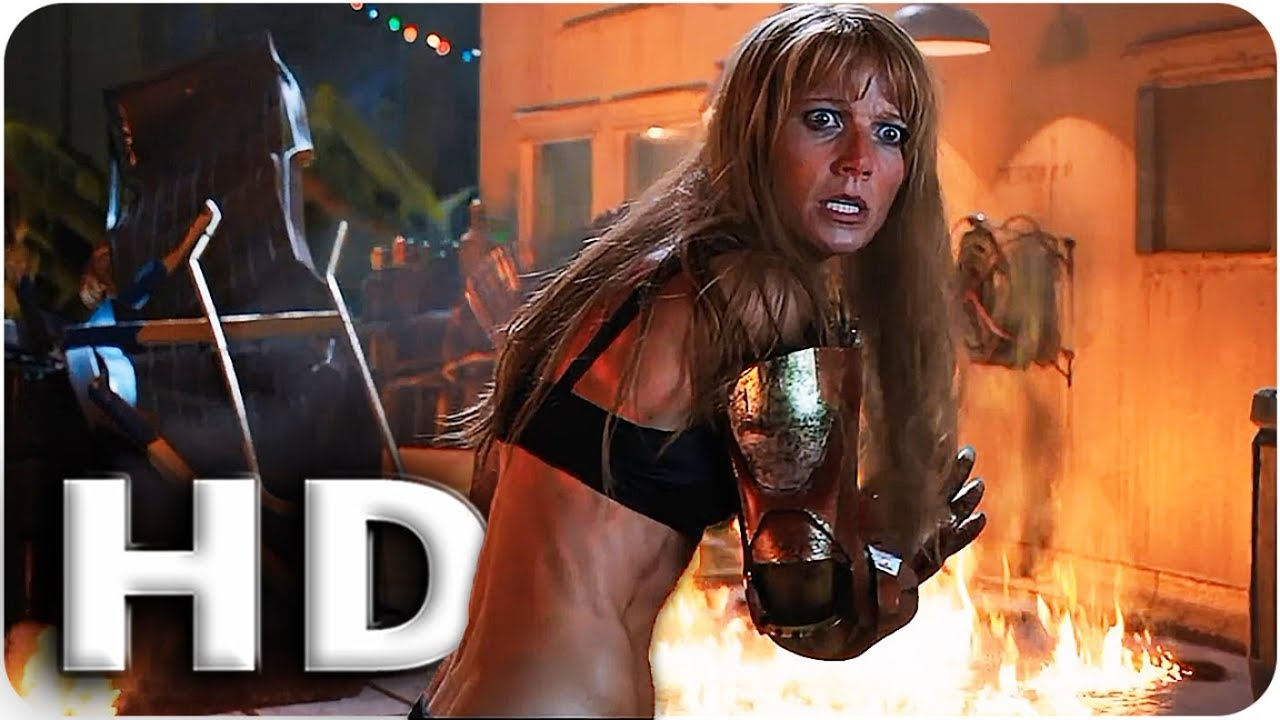 Download Pepper vs Killian 'I Am The Mandarin!' Scene | Iron Man 3 (2013) Movie Clip HD