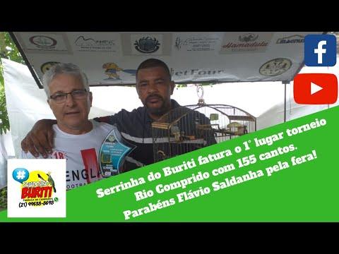 Serrinha do Buriti fatura o 1° lugar torneio Rio Comprido com 155 cantos. Parabéns Flávio Saldanha!