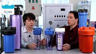 """""""Фильтры для воды"""", обзор. (Смотреть все ролики, """"Фильтр воды"""")  магистральных фильтров для воды."""